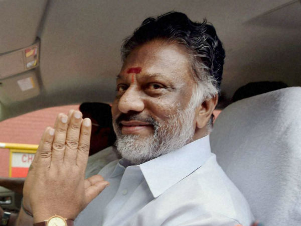 cm o pannerselvam visit admk party office