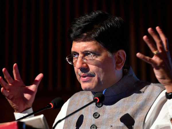 Gain from demonetisation to be shared with all: Piyush Goyal