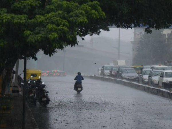 Bangalore will receive light to moderate rainfall