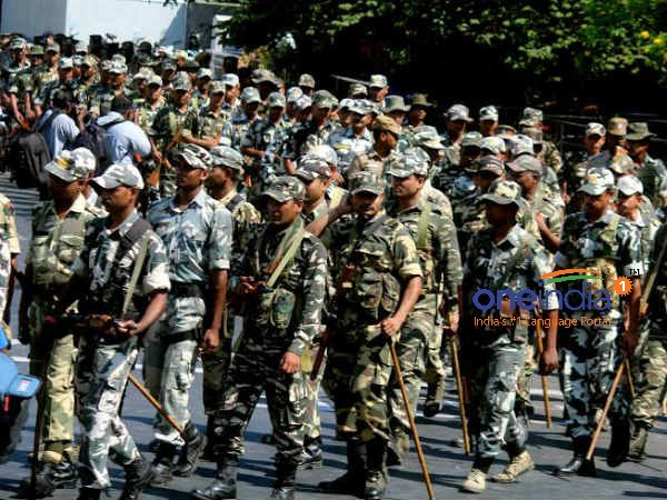 20 company Paramilitary force arrived in Tamil Nadu