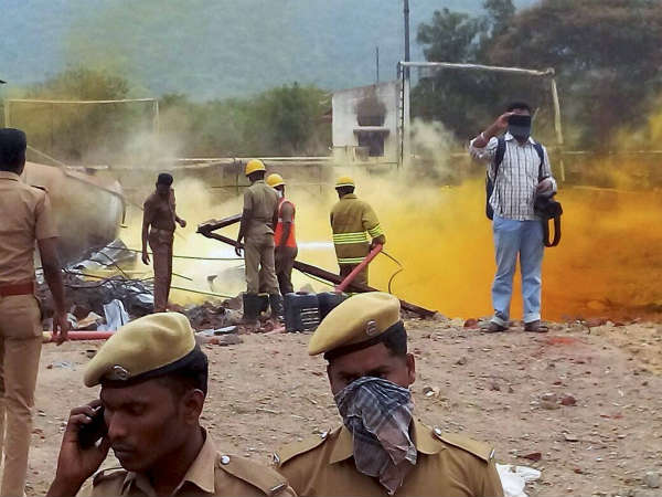 Relatives shocked over the death of 19 in Trichy blast