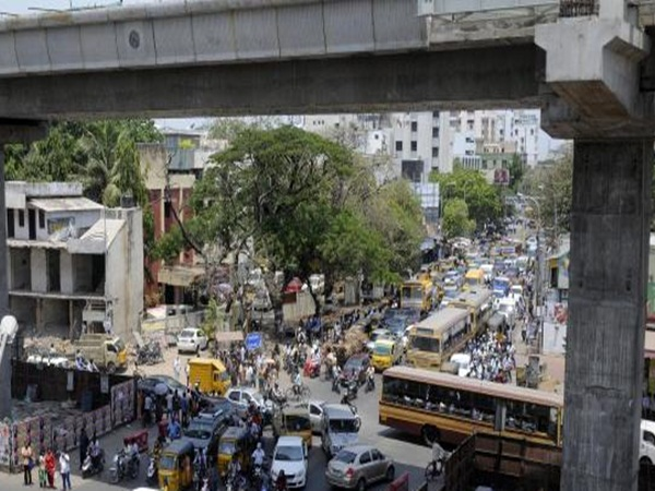 Vadapalani flyover opened by public