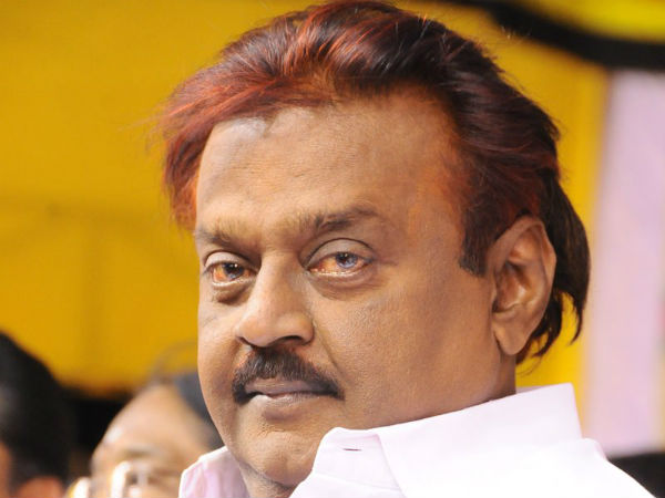 vijayakanth issues statement about chief Secretary Rama Mohan Rao House and office IT raids
