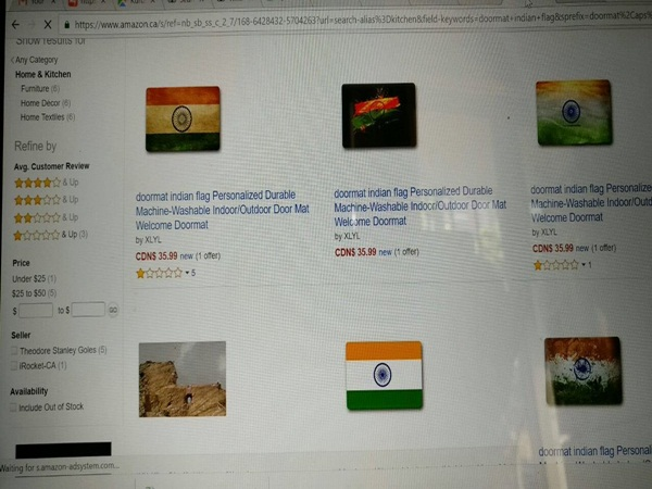 Sushma Swaraj Warns Amazon