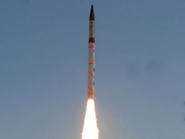 India today successfully test fired the Agni IV nuclear capable ballistic missile