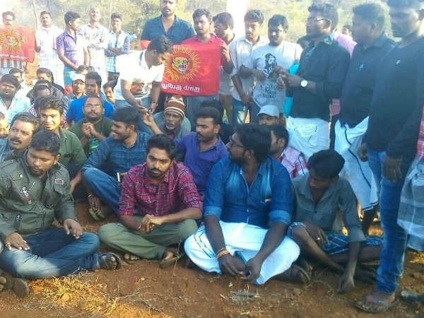 GV Prakash Kumar joins to Jallikattu protest