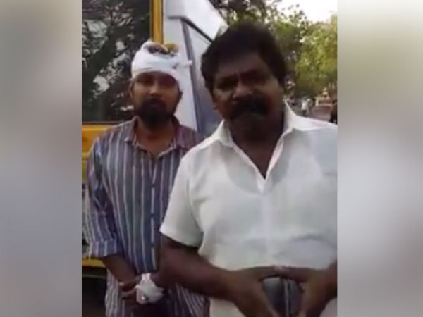 Imman Annachi brutally attack by Chennai Police