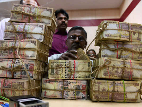 Note ban: Rs 14.5 lakh cr old notes deposited in banks