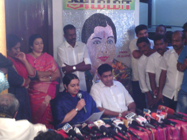 Deepak's interview to pay the Jaya's fine amount is also a conspiracy: Deepa