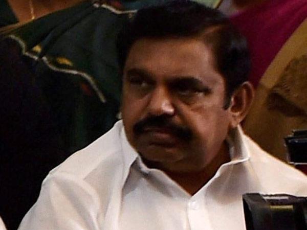 Edappadi Palansamy reaches Kuvathur