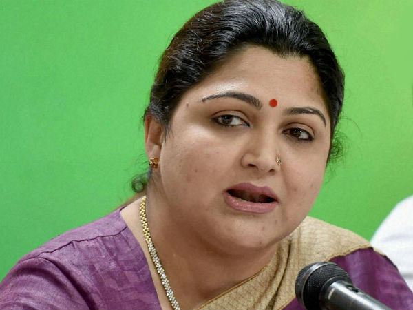 Khushboo condemns Sasikala for treating mlas like convicted culprits
