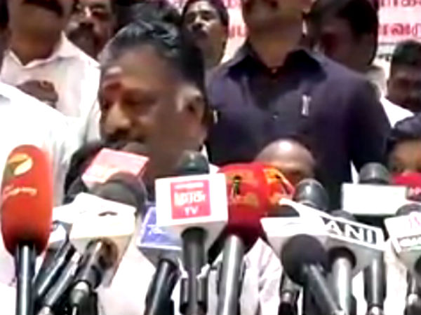 ADMK's one and only general secretary Jayalalithaa says OPS