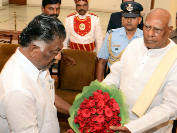 Panneer Selvam truley with Jayalalithaa, says Rosaiah