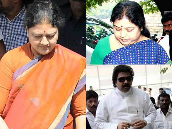 Sasikala convicted, ordered to be taken into custody
