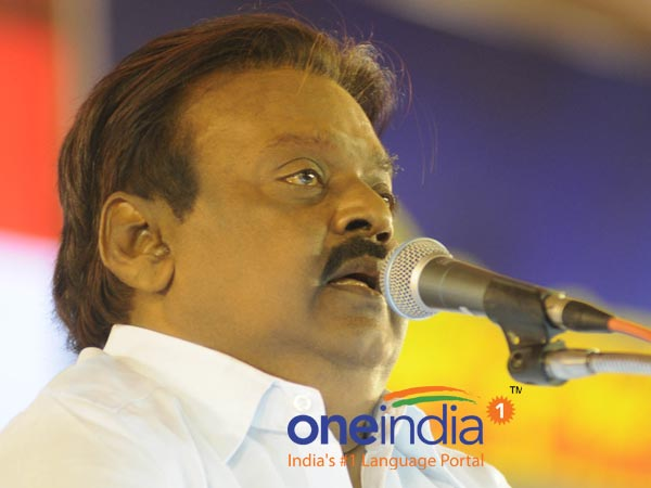 There was no Osama binledens photo in the jallikattu protest : Vijayakanth