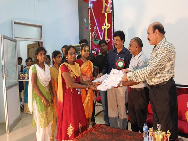 Inter collegiate fest 2017 on Bharathidasan University