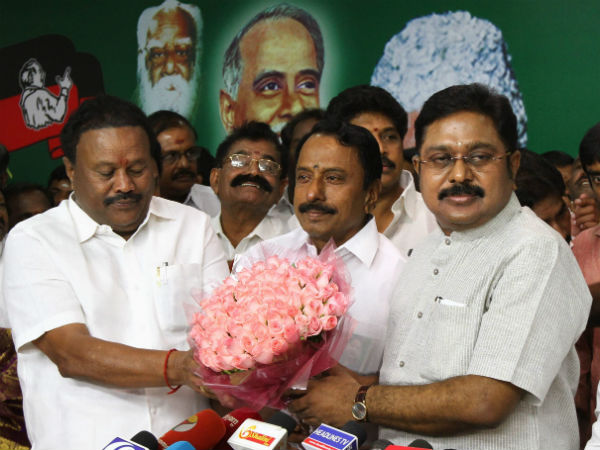 T.T.V.Dinakaran is the R.K.Nagar constituency AIADMK candidate
