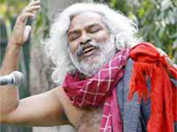 'ஷாக்' .... ஆன்மீக தேடலில் குதித்த மாஜி நக்சல்பாரி புரட்சி பாடகர் கத்தார்!