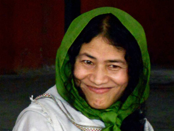 Irom Sharmila wants to stay outside for a few days