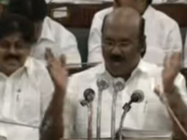 What interesting in Finance Minister Jayakumar's budget?