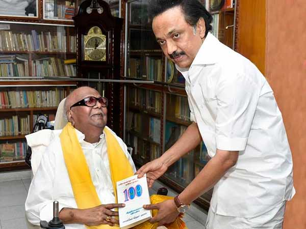 DMK chief Karunanidhi is recovering: Photo released