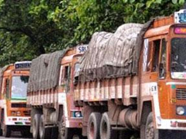 Lorry cargo booking stops from today