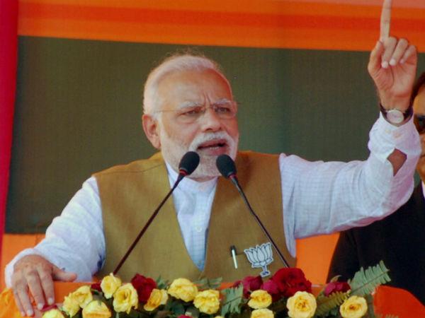 புதிய இந்தியா உருவாக வேண்டும் என்பது 125 கோடி இந்தியர்களின் விருப்பமாகும்... மோடி
