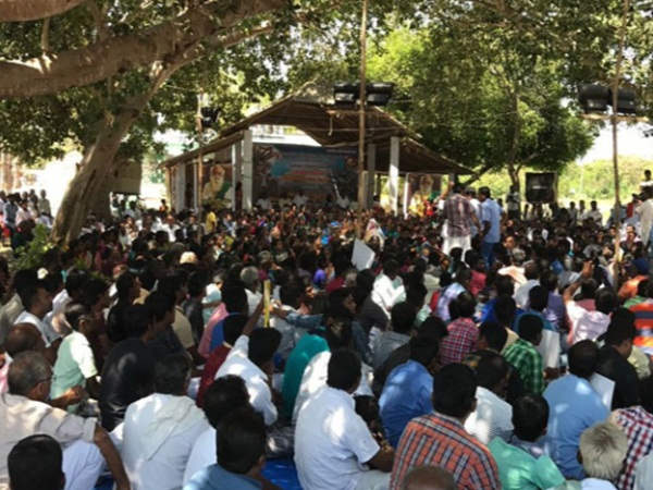 DRO held talks with protesters in Neduvasal
