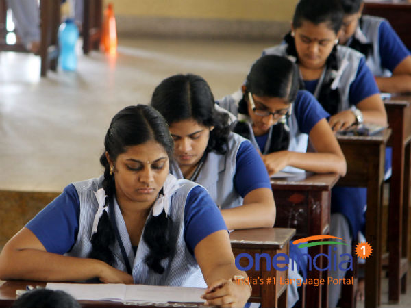Plus 2 answer sheets correction work starts on April first week