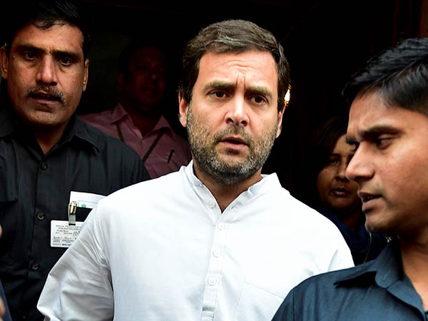 Cong a little down in UP', Rahul says even as anger brews over Goa