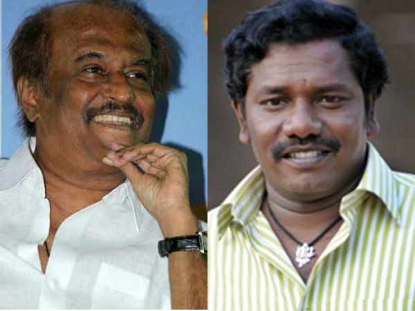 Actor Karunas meets the Rajinikanth at his residence