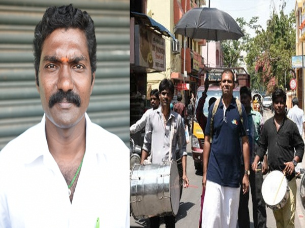 Independent candidates file nomination for RK Nagar by poll