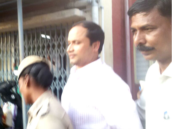 Sekar Reddy's prison up to March 28, CBI court Orders.