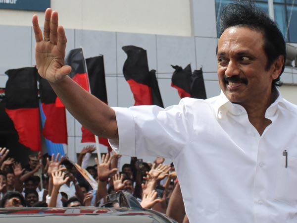 m.k.Stalin greetings to 5 state election winners
