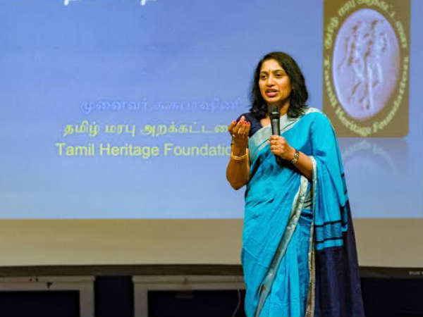 Tamil Heritage Foundations appeal to Tamils