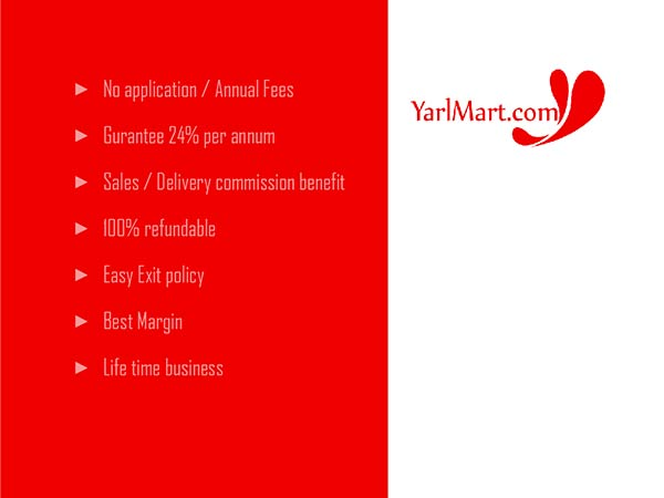 yarlmart.com is giving an opportunity to earn extra money in the marketing field