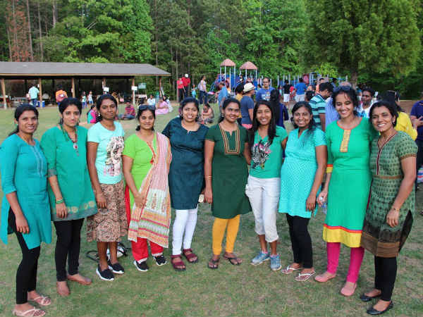 Atlanta Tamil Women food festival for TN lake restoration