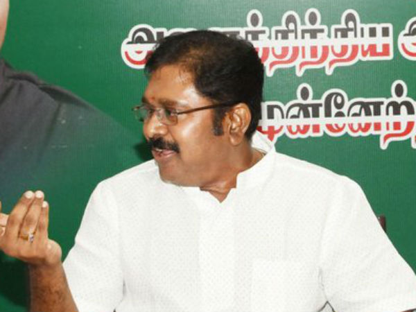 What is in FIR? asks TTV Dinakaran to Reporters