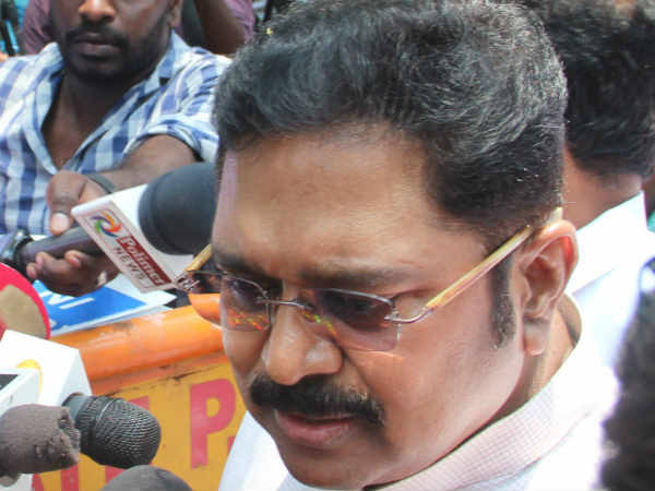 Delhi police refuse to give time to TTV Dinakaran