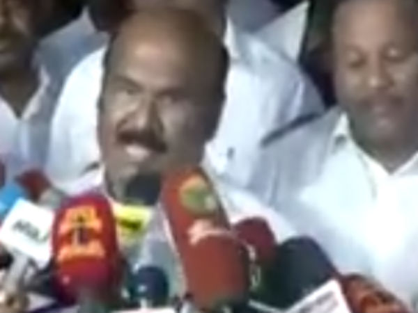 minister jayakumar press meeet