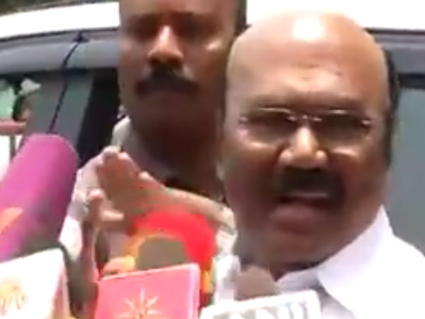 Meeting with the governor is to discuss about the vice chancellors of the universities : Jayakumar