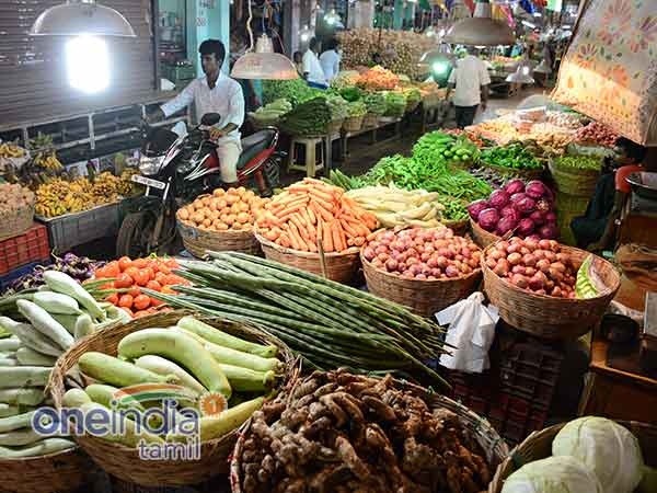 Chennai koyambedu Market Vegetables rate has increased due to Lorry strike