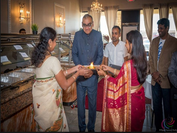 Atlanta Tamil makkal honored to Markandey Katju