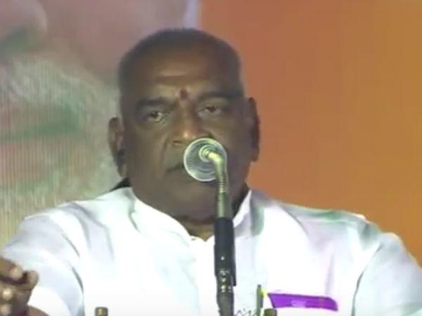 எம்ஜிஆர் இருக்கும் போதே அதிமுகவை அழித்த நினைத்தார்கள்... திமுக மீது பொன்.ராதா பாய்ச்சல்