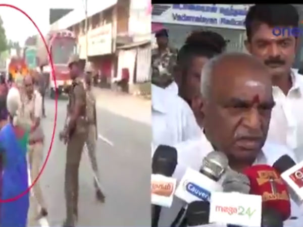 we have to consider police's situation also said Pon. radha krishnan
