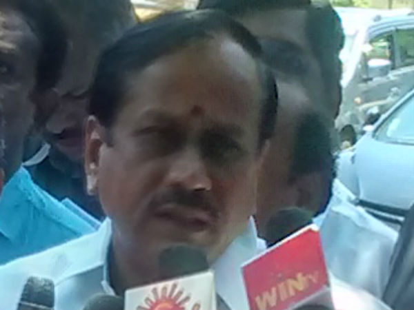 H.Raja Condemned on dmk bandh