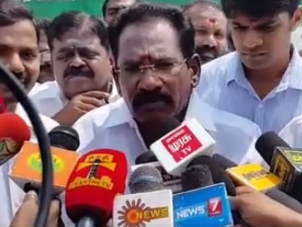 Minister Sellur Raju plan to stop the evaporation of water in Vaigai dam