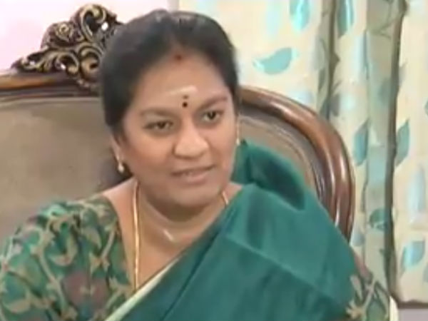 Is it Live?, Sasikala Pushpa gets shock