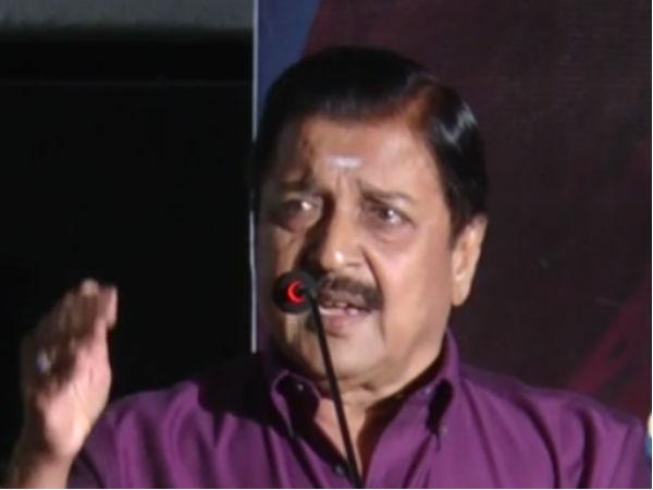 மனைவியை கொடுமைப்படுத்தியவர் மகாத்மா காந்தி.. நடிகர் சிவக்குமார் சர்ச்சை பேச்சு