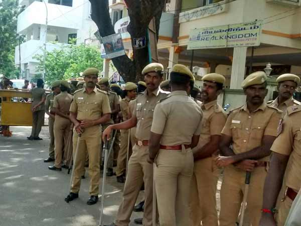 chennai police come for duty at 6 am, commissioner order